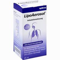 Abbildung von Lipoaerosol Inhalationslösung  45 ml