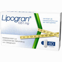 Abbildung von Lipogran Tabletten 60 Stück