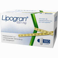 Abbildung von Lipogran Tabletten 180 Stück