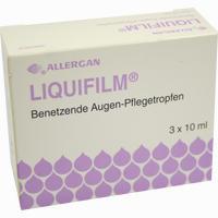 Abbildung von Liquifilm Benetzende Augen- Pflegetropfen Augentropfen 3 x 10 ml