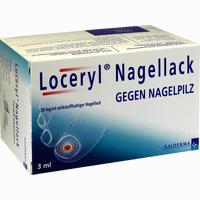 Loceryl Nagellack Gegen Nagelpilz  Lösung 3 ml