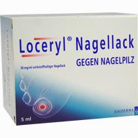 Loceryl Nagellack Gegen Nagelpilz  Lösung 5 ml