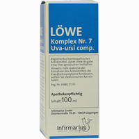 Loewe Komplex Nr.7 Uva Ursi Comp.  Tropfen 100 ml