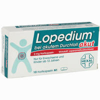 Abbildung von Lopedium Akut bei Akutem Durchfall Kapseln 10 Stück