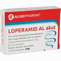 Abbildung von Loperamid Al Akut Kapseln 10 Stück
