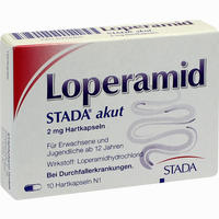 Abbildung von Loperamid Stada Akut Kapseln 10 Stück