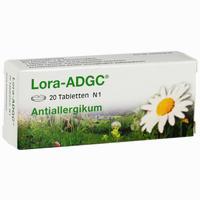 Abbildung von Lora- Adgc Tabletten 20 Stück
