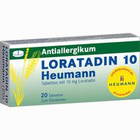 Loratadin 10 Heumann  Tabletten 20 Stück