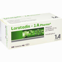 Abbildung von Loratadin - 1a Pharma Tabletten 100 Stück