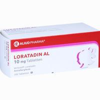 Abbildung von Loratadin Al 10mg Tabletten 100 Stück