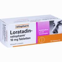 Loratadin-ratiopharm 10mg Tabletten   100 ST