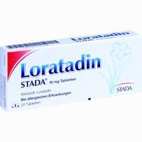 Loratadin Stada 10 Mg Tabletten 20 Stück