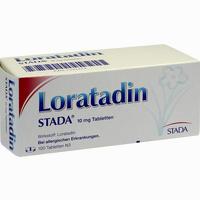 Loratadin Stada 10 Mg Tabletten 100 Stück