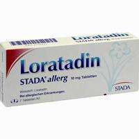 Abbildung von Loratadin Stada Allerg 10mg Tabletten  7 Stück