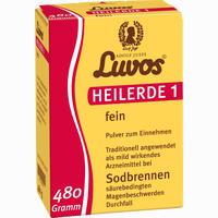 Luvos Heilerde 1 Fein Pulver  480 g
