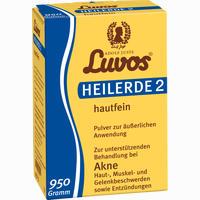 Luvos Heilerde 2 Hautfein  Pulver 950 G