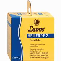 Abbildung von Luvos Heilerde 2 Hautfein Pulver 4200 g