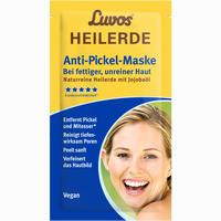 Abbildung von Luvos Heilerde Gesichtsmaske Beutel Paste 15 g