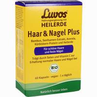 Abbildung von Luvos Heilerde Haar & Nagel Plus Kapseln  60 Stück