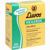 Luvos Heilerde Ultrafein Portionsbeutel  Pulver 20X6.5 g