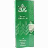 Macholdt Aktiv-Inhalator Mit Nasenadapter  Und Inhalieröl Eucalyptus 10 Ml 1 Stück