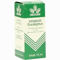 Macholdt Inhalieröl Eucalyptus 10 ml
