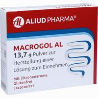Abbildung von Macrogol Al 13. 7g Pulver zur Herstellung einer Lösung Zum Einnehmen 10 Stück