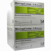 Abbildung von Macrogol Comp - 1 A Pharma Pulver 100 Stück