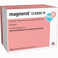 Magnerot Classic N  Tabletten 200 Stück