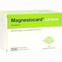 Magnesiocard 2.5 Mmol Filmtabletten  200 Stück