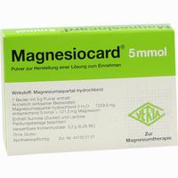 Magnesiocard 5mmol  Pulver 20 Stück