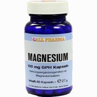 Magnesium 100mg Kapseln   60 Stück