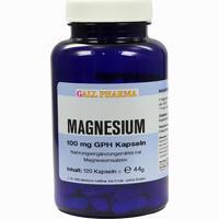 Magnesium 100mg Kapseln   120 Stück