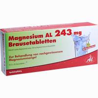 Magnesium Al 243mg Brausetabletten   40 Stück