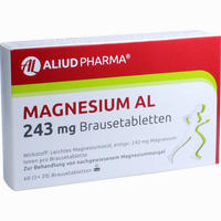 Magnesium Al 243mg Brausetabletten   60 Stück