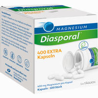 Magnesium-diasporal 400 Extra Kapseln 100 Stück