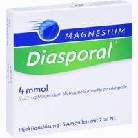 Abbildung von Magnesium Diasporal 4mmol Injektionslösung Ampullen 5 x 2 ml