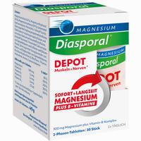 Abbildung von Magnesium- Diasporal Depot Muskeln + Nerven Tabletten 30 Stück