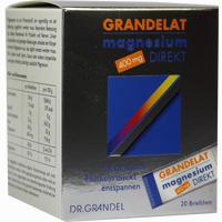 Magnesium Direkt 400mg Grandelat  Pulver 20 Stück