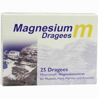 Magnesium M Dragees   25 Stück