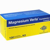 Magnesium Verla  Kautabletten 100 Stück