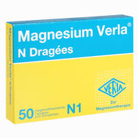Abbildung von Magnesium Verla N Dragees 50 Stück