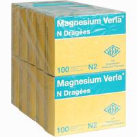 Magnesium Verla N  Dragees 10X100 ST