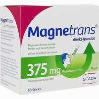 Magnetrans Direkt 375mg  Granulat 50 Stück