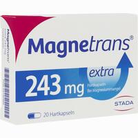 Abbildung von Magnetrans Extra 243mg Kapseln 20 Stück