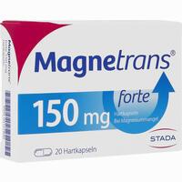 Abbildung von Magnetrans Forte 150mg Kapseln 20 Stück