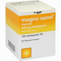 Magno Sanol Kapseln   100 Stück