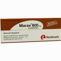 Marax 800mg Kautabletten  20 ST