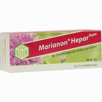 Abbildung von Marianon Heparhom Tropfen 50 ml