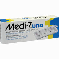 Medi 7 Uno Medikamentendosierer 1 Stück